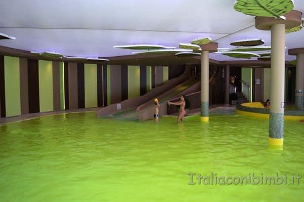 Cavallino Bianco Ortisei piscina bambini