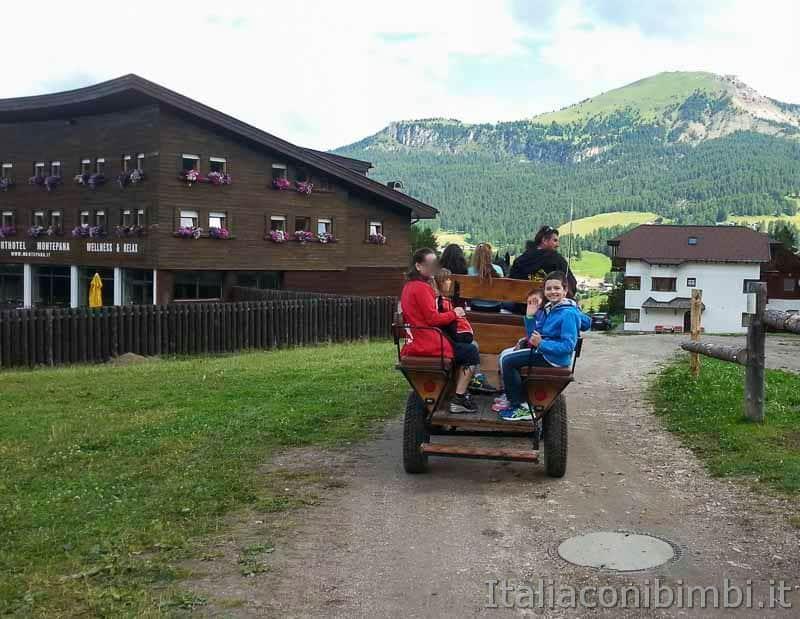 Val Gardena - Monte Pana carrozza