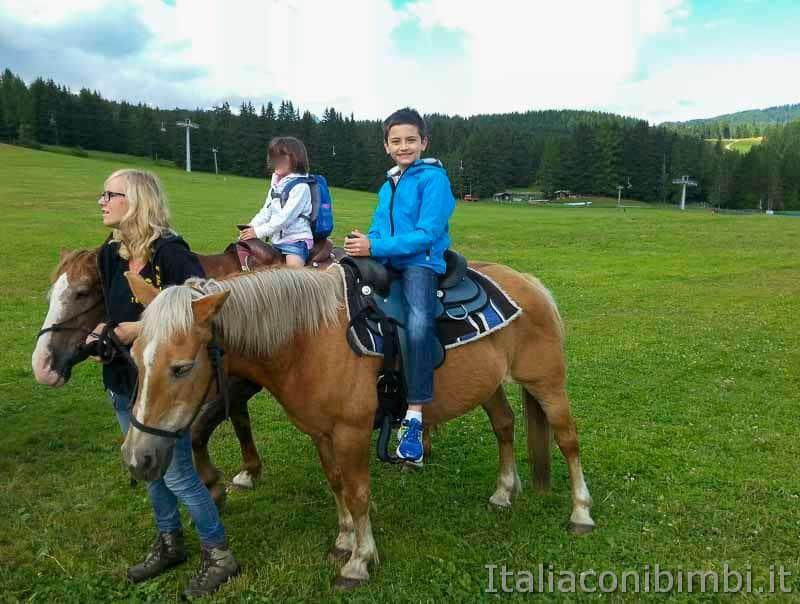 Val Gardena - Panaraida bambini a cavallo
