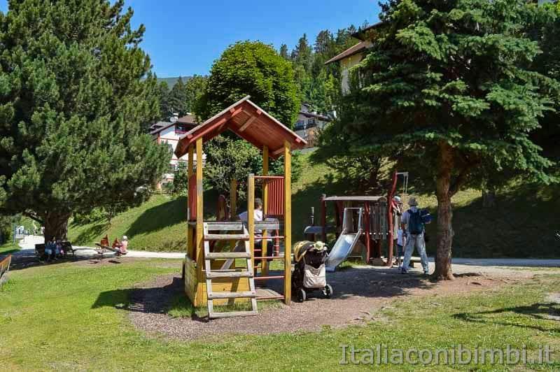 Val Gardena - Passeggiata Luis Trenker giochi