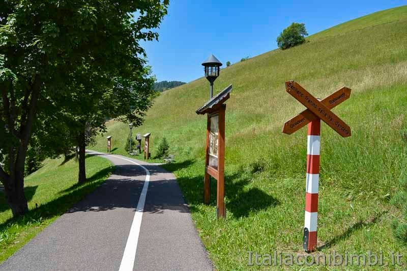 Val Gardena - Santa Cristina passeggiata