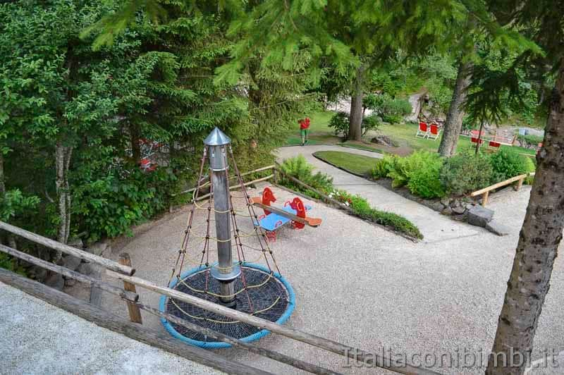 Val Gardena - Val D'Anna parco giochi della baita