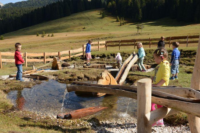 Panaraida sentiero per bambini Alto Adige - parchi per bambini in Italia