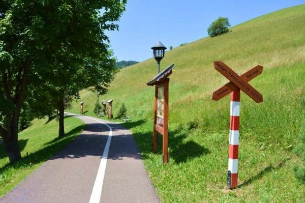 sentiero del trenino santa cristina