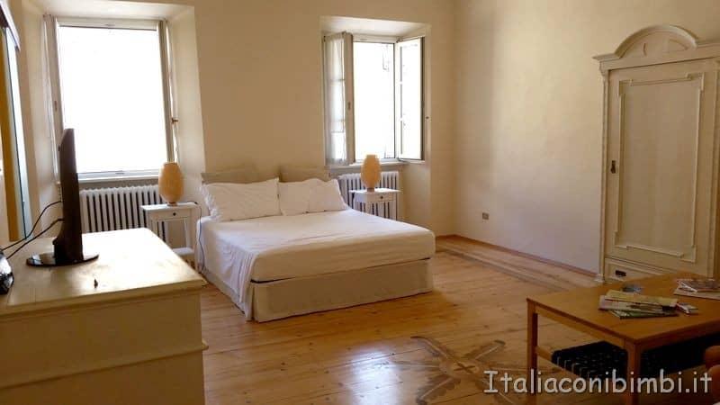camera del B&B di Trento Al Cavour 34