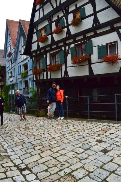quartiere dei pescatori di Ulm in Germania