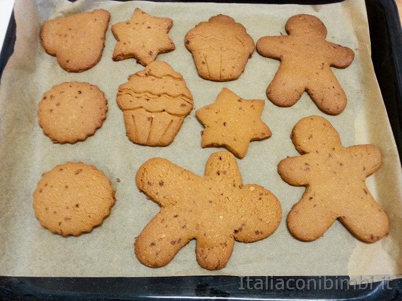 biscotti allo zucchero di canna mascobado cotti