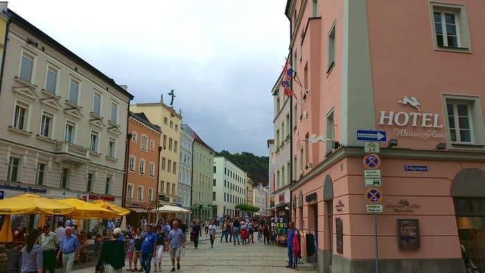 Il centro di Passau