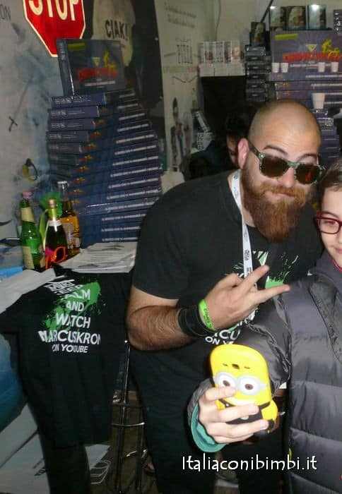 MarcusKron a Lucca Comics and Games 2015