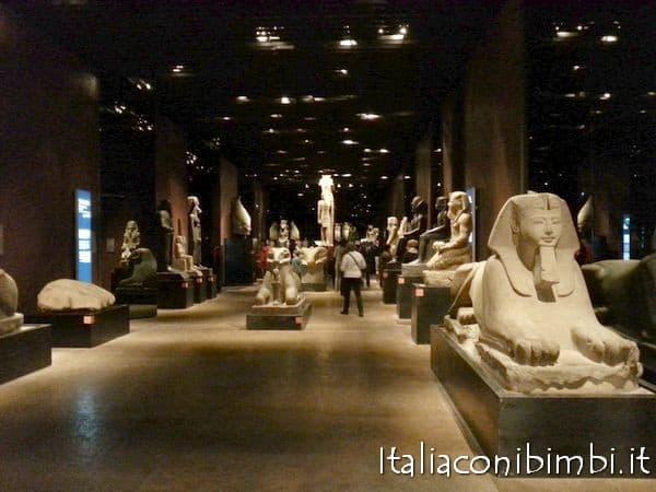 Torino con bambini: Museo Egizio