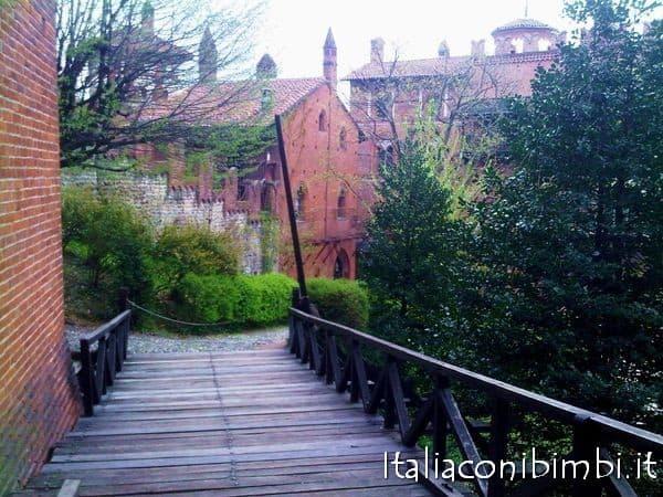 Cosa vedere a Torino con bambini: borgo medievale