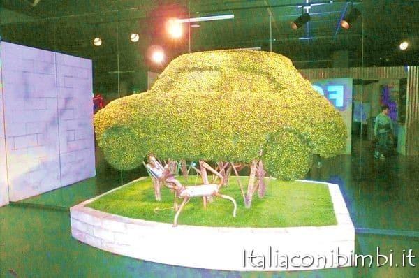 Torino con bambini: museo dell'automobile