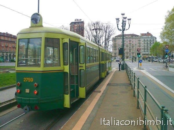 Cosa vedere a Torino con bambini: tram n°7