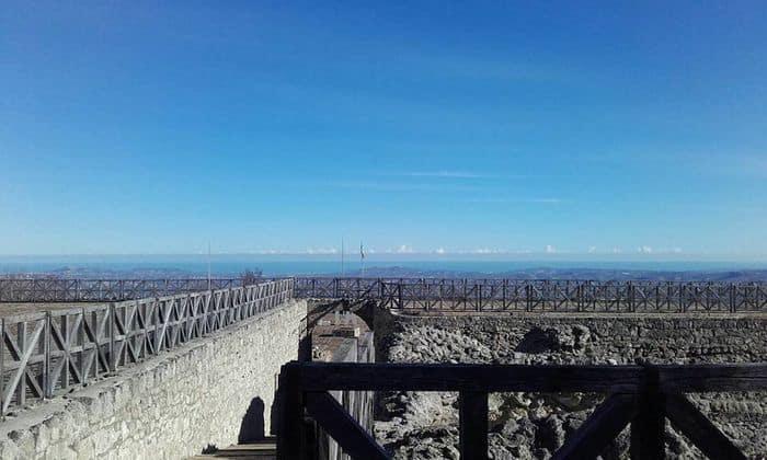panorama dalla fortezza di civitella