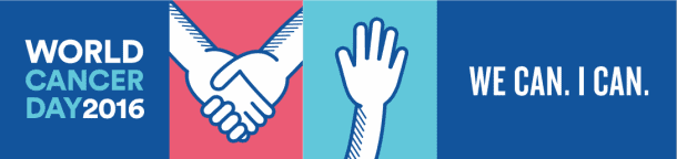 World Cancer Day 2016, giornata mondiale per la lotta contro il cancro