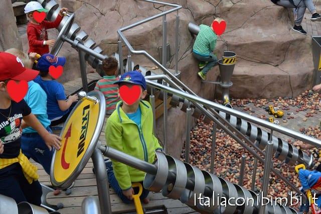 giochi al parco Playmobil in Germania