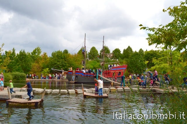 nave al parco Playmobil Germania