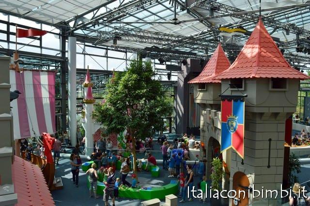 castelli dentro al parco Playmobil Germania