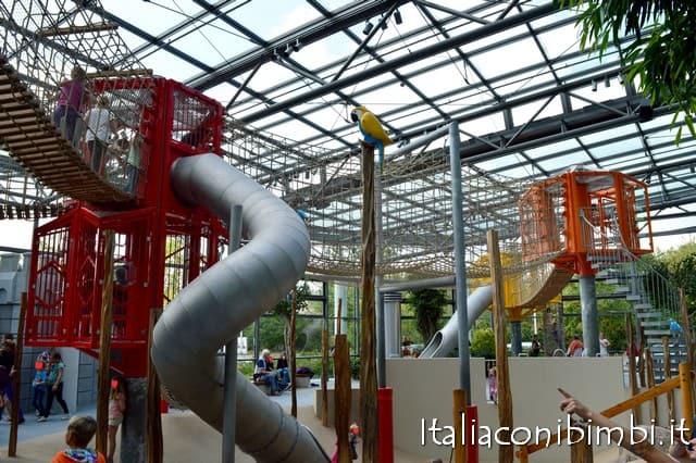 scivoli interni al parco Playmobil Germania