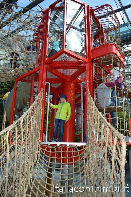 struttura di gioco al parco Playmobil Germania