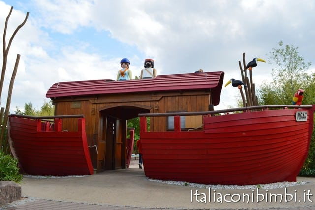 barca al parco Playmobil in Germania