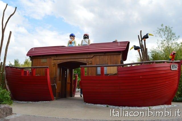 barca al parco Playmobil in Germania