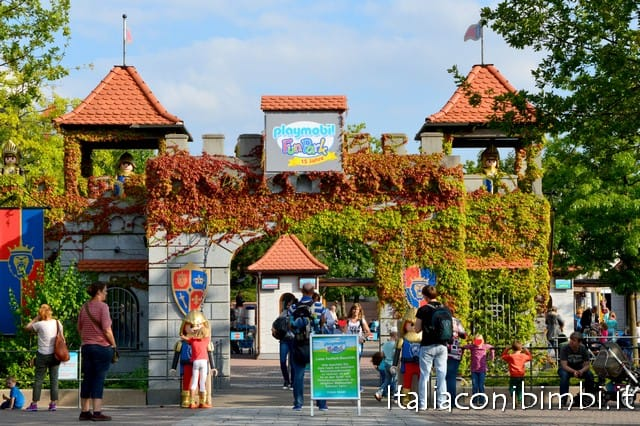 ingresso del parco Playmobil Germania