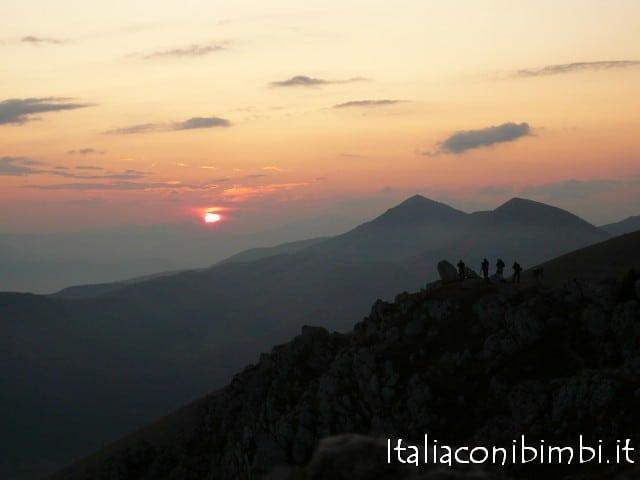 Tramonto alla Rocca di Calascio