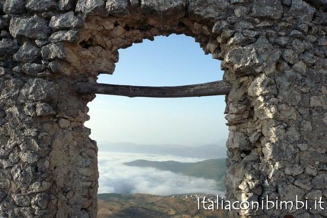 Veduta dalla Rocca Calascio