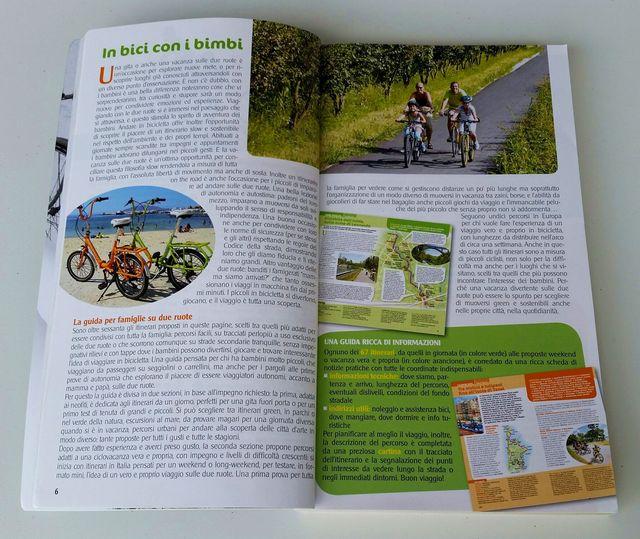 In bicicletta con i bambini Touring Club Italiano interno