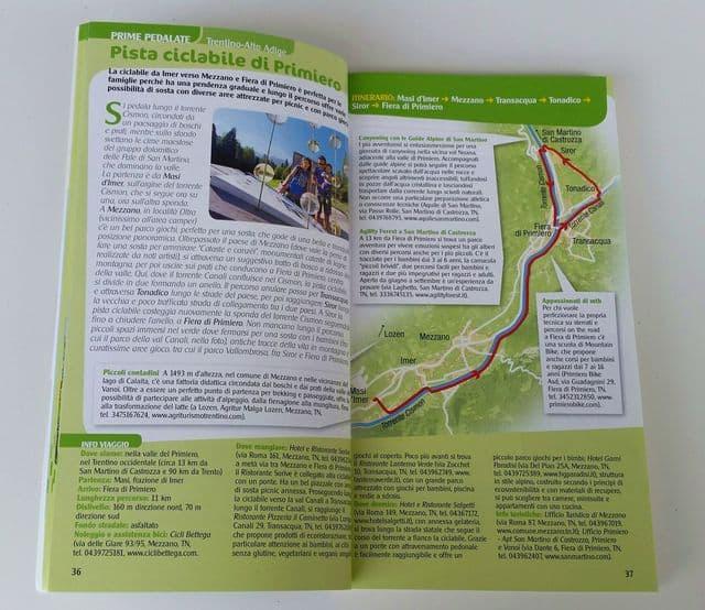 In bicicletta con i bambini Touring Club Italiano mappe