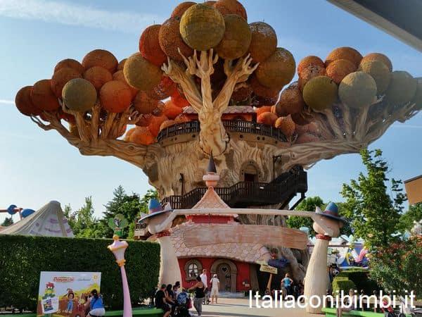 l'albero di Prezzemolo a Gardaland