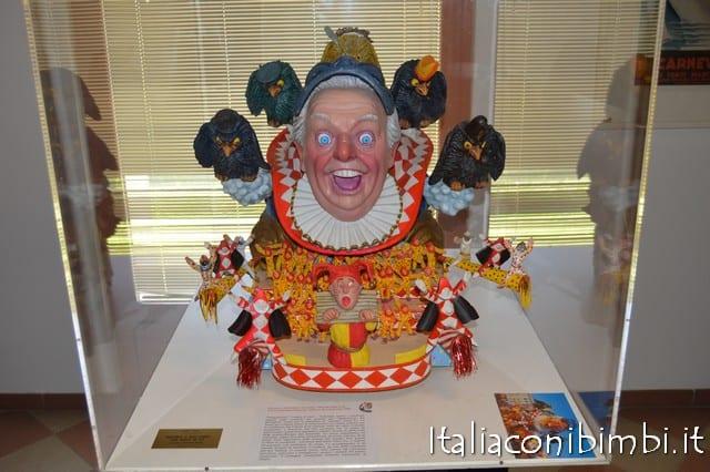 Interni del Museo del Carnevale di Viareggio