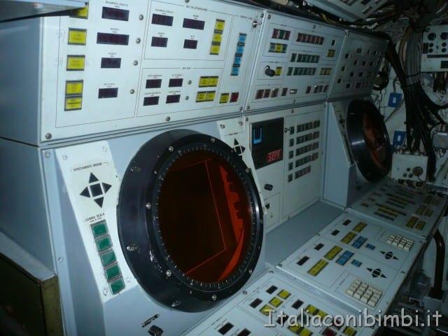 Sottomarino del museo della scienza e tecnologia di Milano