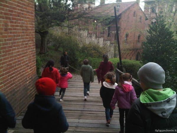 Musei per bambini in Italia: Torino visita al Borgo Medievale