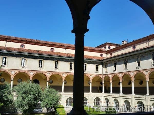chiostro del Museo della Scienza di Milano