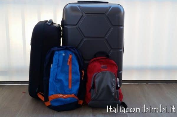 come fare le valigie