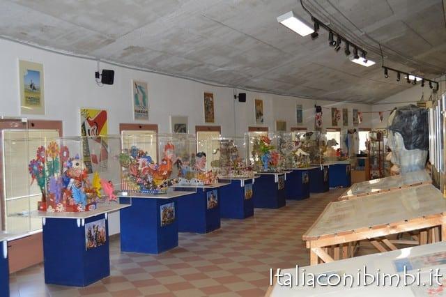 Viareggio con bambini: il museo del Carnevale