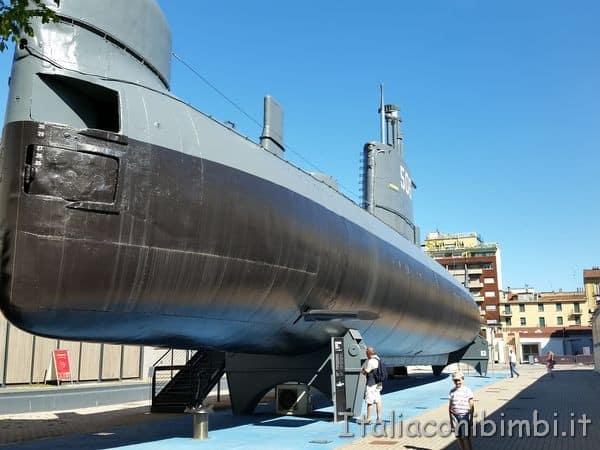 sottomarino al museo della scienza tecnologia Leonardo Da Vinci Milano