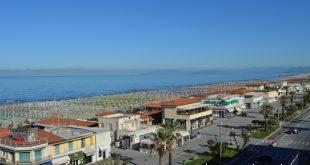 vista dall'Hotel Palace di Viareggio