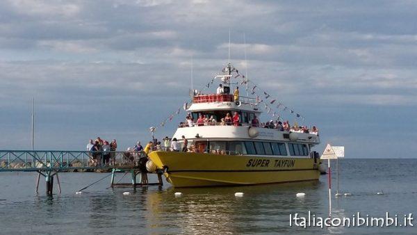 Gita in barca con la motonave SuperTayfun