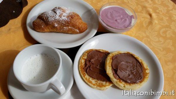 Colazione all'Hotel Villa Saba di Bellaria Igea Marina