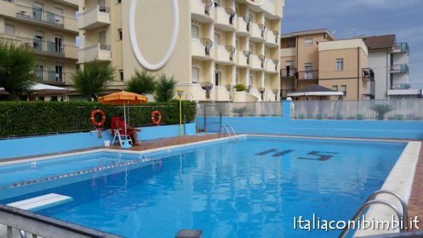 Piscina Hotel Villa Saba di Bellaria Igea Marina
