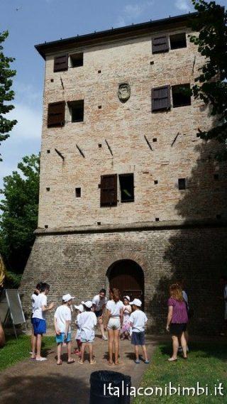 La Torre Saracena a Bellaria Igea Marina con bambini