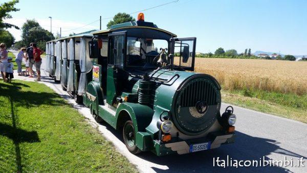 Il trenino di Bellaria Igea Marina