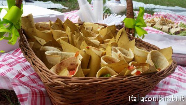 Pic-nic con specialità romagnole al Parco del Gelso di Bellaria Igea Marina con bambini