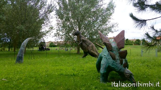 Parco del Gelso dinosauri