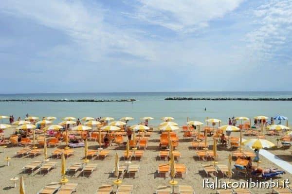 Spiaggia del Bar Sole concessione 52 di Bellaria Igea Marina