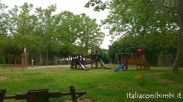 Giochi al Parco Fucoli di Chianciano