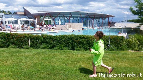 alle piscine termali Theia con i bimbi